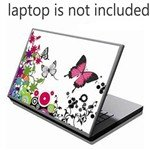 mini-cool-cute-butterfly-pattern-color-paste-sticker-skin-cover-decal-for-15-inch-notebook-laptop-sp