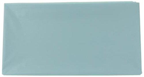 Firefly importen Party Kunststoff Tisch, rechteckig, Abdeckungen, hellblau, 54-Inch by 108-Inch -