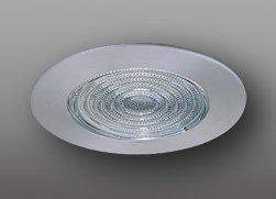 Elco Lighting EL13N 6 CFL Sloped Shower Trim with Fresnel Lens - EL13 (CFL Sloped) by Elco Lighting (Fresnel-trim)