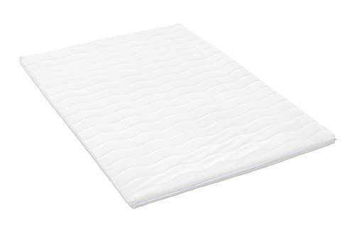Möbelfreude Viskoschaum Topper 160 x 200 cm für Boxspringbetten und Matratzen | Gesamthöhe: 5 cm | Matratzenauflage für unbequeme Betten und Doppelbetten | Ideale Körperanpassung durch Memory-Schaum