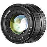 Neewer Obiettivo Prime a Lunghezza con Fuoco Manuale 35mm F1.2 APS-C Apertura Larga in Alluminio,Compatibile con Fotocamere Mirrorless E-Mount Sony