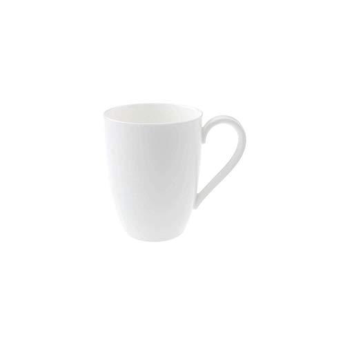 Villeroy & Boch Royal Kaffeebecher, 350 ml, Premium Bone Porzellan, Weiß Royal Becher