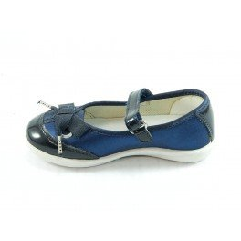 Naturino Elegant Satin Dancer Con Velcro 7973 Azul