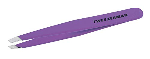 Tweezerman - Slant Tweezer Black - Pincettes Slant...