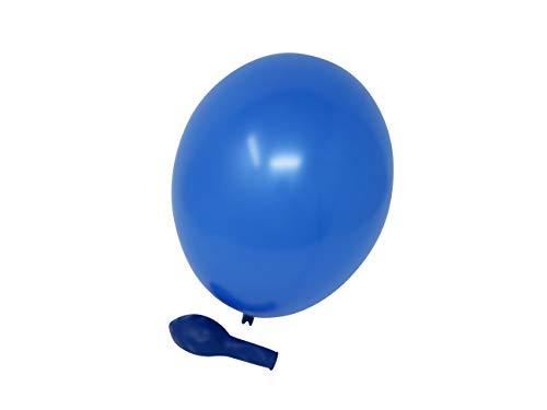 Belbal 50 Luftballons royal blau Premiumqualität Ø ca. 27cm B85 (Standardgröße)