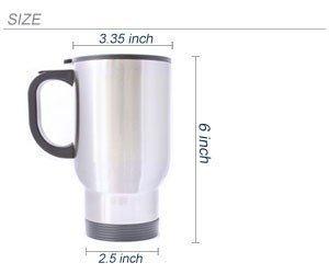 Dozili Tasse à café humoristique en céramique Motif branche de Rooibos Blanc 28 ml