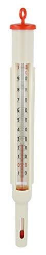 Lantelme Maischethermometer Maische Gewürzthermometer Kunststoff Wein Bier Herstellung Hobbybrauer Thermometer 8020