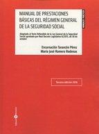 Manual de Prestaciones Básicas del Régimen General de la Seguridad Sociall