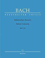 Preisvergleich Produktbild Italienisches Konzert F-Dur BWV 971. Spielpartitur(en), Urtextausgabe