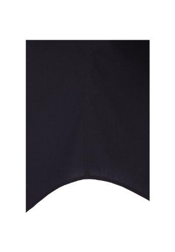 Seidensticker Hemd Schwarze Rose Joekragen in Langarm (66cm) Bügelfrei schwarz, Einfarbig Schwarz