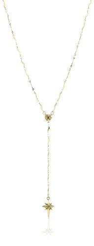 Pilgrim Jewelry Damen Halskette Messing Kristall Starcross Vergoldet 70.0 cm grau 191342111