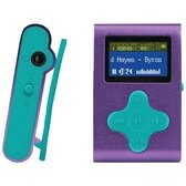 Eclipse Eclipse Fit Clip Pl/tl 4gb 1 Mp3 Player (purple/teal)