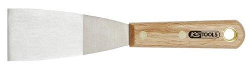 KS Tools 907.2263 Edelstahl-Spachtel, 50 mm, mit Holzgriff