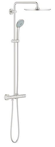 GROHE Euphoria XXL System 310, Brause-und Duschsysteme - Duschsystem, mit Thermostatbatterie für die Wandmontage, 26075DC0