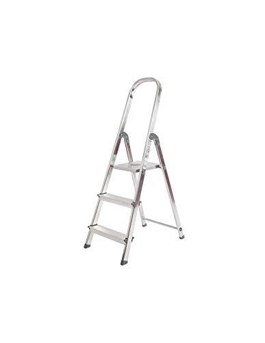 Escalera Rolser Aluminio Unica 3 Peldaños
