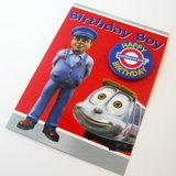 Underground Ernie Birthday Boy Card with Badge