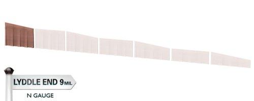 Hornby N8702 Brick Retain Walls Slope - Pack 1