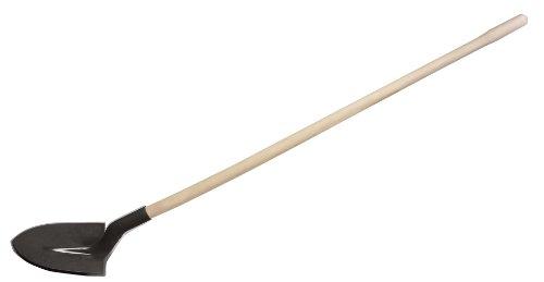 KS TOOLS 144.0821 Pelle ronde - Col de cygne - Manche bois - 27 cm