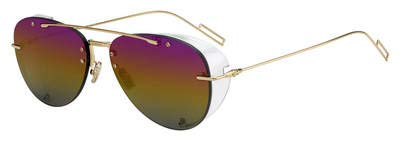 Sonnenbrillen Dior DIOR CHROMA 1 GOLD/PINK YELLOW SHADED Herrenbrillen
