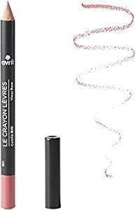 AVRIL - Crayon à Lèvres Bio - Vieux Rose 586 - Tracé Précis - Couleur Ultra Tendance - Effet Naturel Garanti - Longue Tenue
