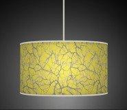40cm Baum Äste gelb Retro handgefertigt Giclée-Style bedruckter Stoff Lampe Drum Lampenschirm oder Decke Pendelleuchte Schatten 709 -