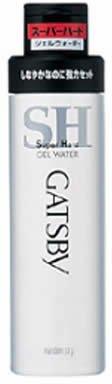 Gatsby Gel Water Hair B5 Moisturizer Uv Super Hard (japan import)