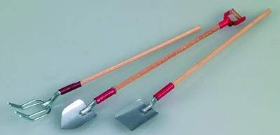 efco-Miniatur Garten Werkzeug, Mehrfarbig, 11,5-13cm, 3-teilig