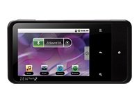 Creative Zen Touch 2 Tragbarer Video-Player 8GB (8,1 cm (3,2 Zoll) Touchscreen, WiFi, Android 2.1, Mini USB) schwarz Creative Zen Wav