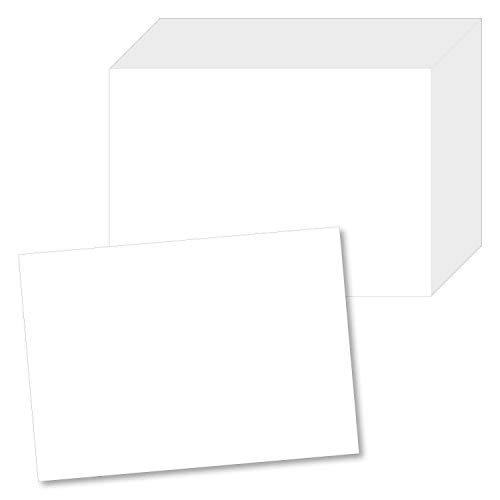 #detailverliebt 100 Papier-Tischsets Weiß I DV_141 I Din A3 I Platzset Platzdecken Tisch-Unterlage Platzmatte Blanko Neutral 100 Stück (Hochzeit Brunch Einladungen)