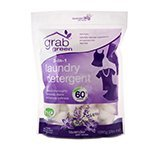 Grab Green 3In1 Laundry Detergents Lavender With Vanilla PreMeasured Concentr