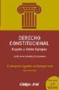 Derecho constitucional por Jose Juan Gonzalez Encinar