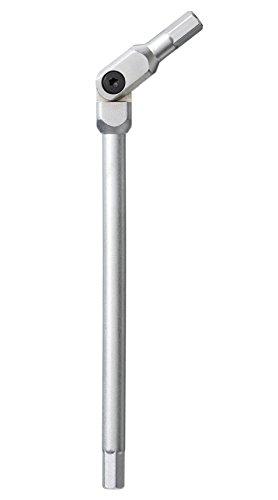 Bondhus 880604mm hex-pro Pivot Head Schlüssel, Länge: 107mm, chrom