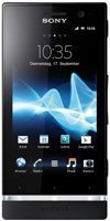 """Sony Sony Xperia U - Android Phone - GSM / UMTS - 3G - 4 GB - 3.5"""" - TFT - Schwarz - T-Mobile"""