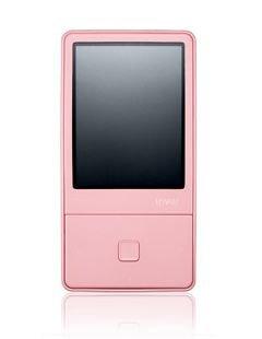 iRiver E 100 Tragbarer MP3-Player 8 GB pink (Mp3-player Iriver)