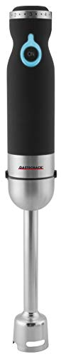 GASTROBACK 40975 Design Advanced Pro, leistungsstarker Stabmixer (800 Watt) aus Edelstahl mit umfangreichem Zubehör, D x H: 65 x 400 mm