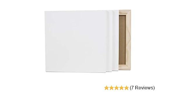 Gr/ö/ße 40 x 40 cm 2er- Set Holzmalgrund Paintersisters Malgrund aus Holz Malen auf Holz