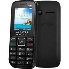 Alcatel 1042x One Touch Handy (4,57 cm (1,8 Zoll) Display, VGA-Kamera, Bluetooth, FM-Radio) schwarz