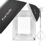 Fotodiox Flash-2436-Nik 24x36 Lichtwanne Softbox mit Weiche Diffusor/Speedring Klammer für Nikon Flash