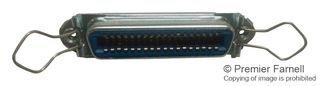 AMPHENOL ICC (COMMERCIAL PRODUCTS) Mini D Ribbon Conn, RCPT, 50POS, THT 57 40500 - Icc-mini