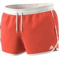 adidas Herren Split Badehose, Raw Amber/Cloud White, L