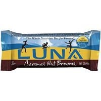 LUNA BR,OG3,CRML NUT BRWN 1.69 OZ by Clif Bars (1.69 Ounce Bars)