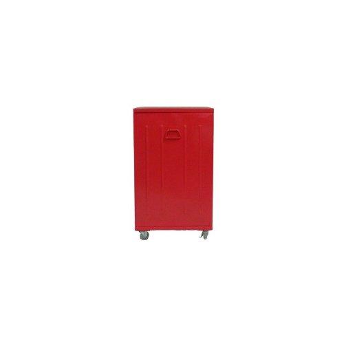 more-design-beavis-1p-rg-petit-meuble-en-metal-1-porte-sur-roulettes-rouge