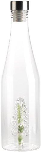 Glas Schnaps Flasche (Cucina di Modena Glasflasche: Geschenkflasche mit Hohlraum, Traubenform (Flasche mit Hohlraum))