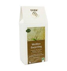 GEPA Bio Weißtee Darjeeling lose – 1 Karton (5 x 75g)
