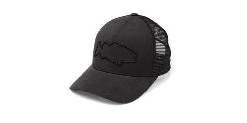 Costa Del Mar Stealth Bass Trucker Hat, Schwarz