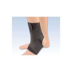 EZ-ON Wrap Around Ankle Support - 2X-Large - 40-55040-5502LBLK by Florida Orthopedics -