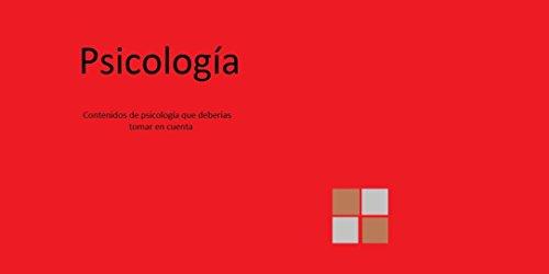 Psicología: 600 libros de psicologia solo los puntos resaltantes