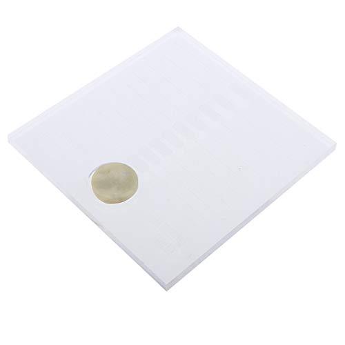 Homyl Palette de Cils Plastique Support Pour Palette Outil d'Extensions de Cils D'affichage Cils