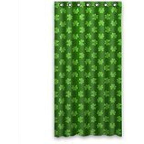 LEGENDT DIY NEW Shower Curtain fashion design Irish Shamrock beautiful Shamrock art Bathroom decor 100% Polyester Shower Curtain (36inches wide x 72inches