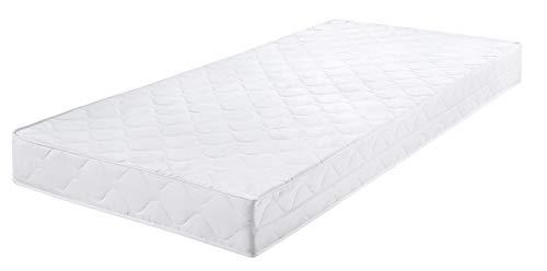 *Badenia Bettcomfort Roll-Komfortmatratze, Trendline BT 100, Härtegrad 2, 90 x 200 cm, weiß*